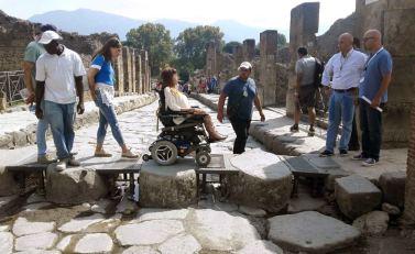 Pompei percorso accessibile