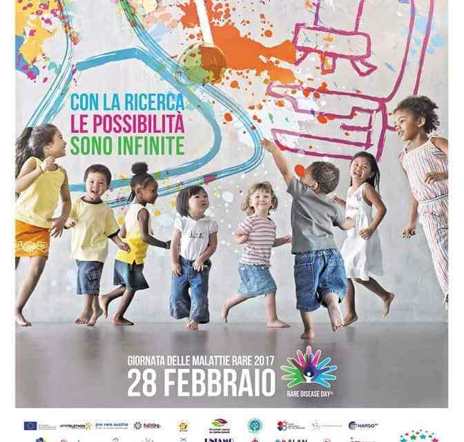 28 Febbraio : Giornata mondiale delle Malattie Rare