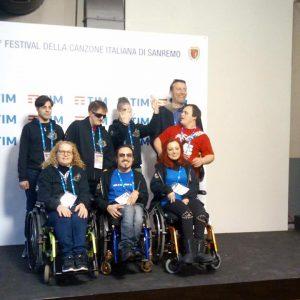 ladri di carrozzelle sanremo 2017 300x300 - I Ladri Di Carrozzelle ospiti a Sanremo 2017. La disabilità è Rock!