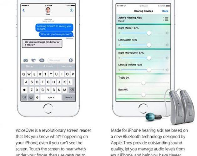apple-accessibilità