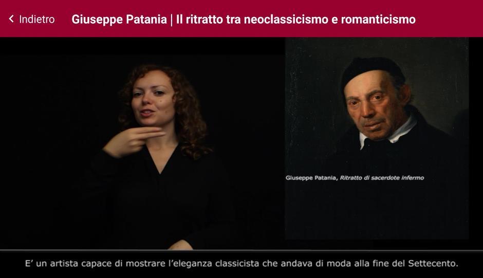 """""""Segni d'Arte"""" la video-guida in LIS alla Galleria d'Arte Moderna di Palermo"""