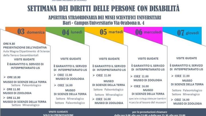 PugliAccessibile : Settimana dei diritti delle persone con disabilità a Bari