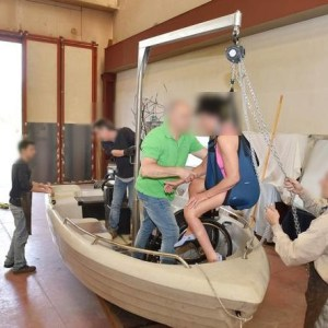 cernobbio barca sub accessibile - Cernobbio, barca per sub con disabilita'per esplorare i fondali del lago