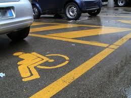 parcheggi disabili - ELIMINAZIONE DELLE BARRIERE ARCHITETTONICHE: I PARCHEGGI