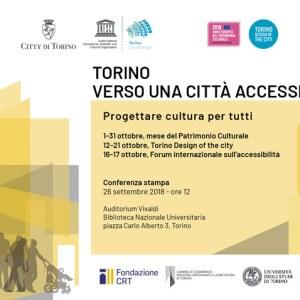 """Torino citta accessibile - """"Torino. Verso una città accessibile"""" : 170 appuntamenti sull'accessibilità"""