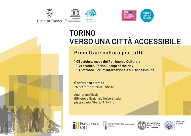 """""""Torino. Verso una città accessibile"""" : 170 appuntamenti sull'accessibilità"""