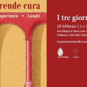"""bologna si prende cura locandina def - """"Bologna si prende cura"""" dal 28 febbraio al 2 marzo i giorni dedicati al welfare cittadino"""