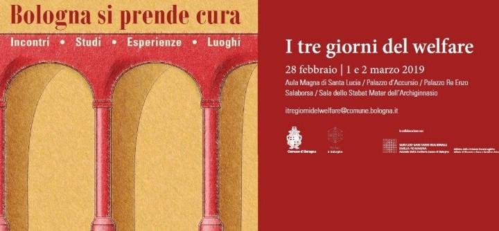 """""""Bologna si prende cura"""" dal 28 febbraio al 2 marzo i giorni dedicati al welfare cittadino"""