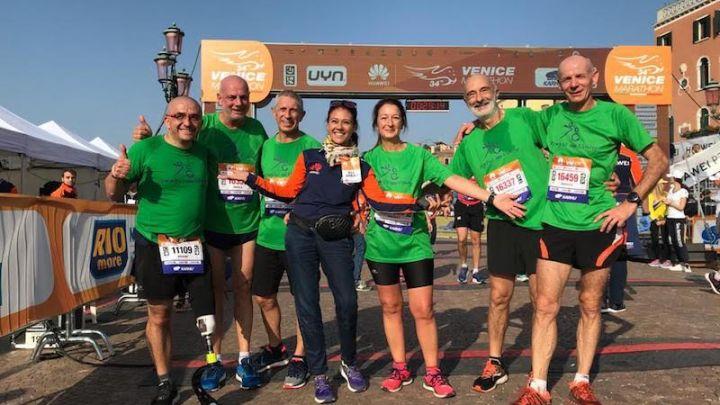 Giusy Versace e Disabili No Limits: raccolti 7908 euro durante la Venicemarathon