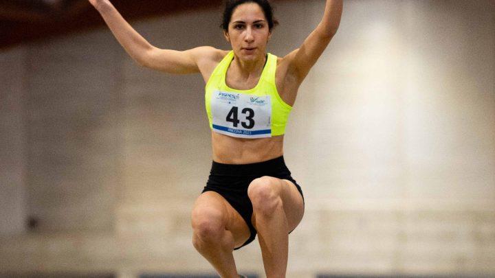 Atletica paralimpica Fispes e Fisdir, Assoluti indoor e lanci: Inga record italiano nel lungo, Mattone nel salto triplo