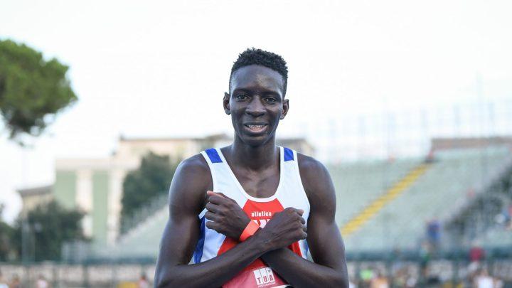 Atletica paralimpica: il mezzofondista Ndiaga Dieng record italiano indoor dei 1500 metri