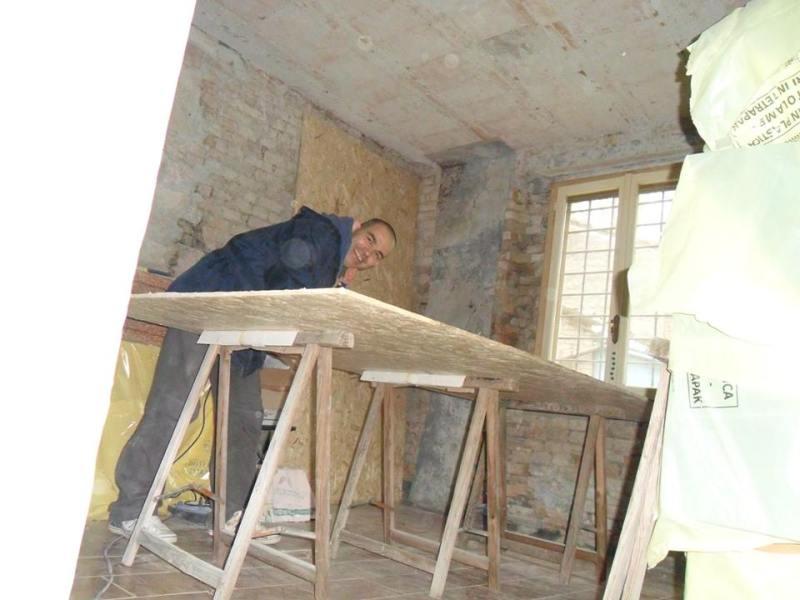 Ivan Piga a lavoro