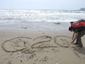 La spiaggia del Tombolo