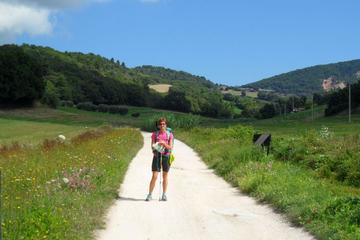 Il sentiero verso Osimo