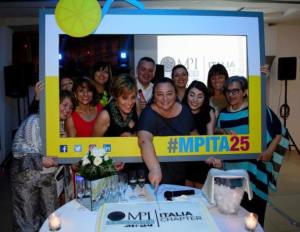 MPI Italia Chapter anniversary