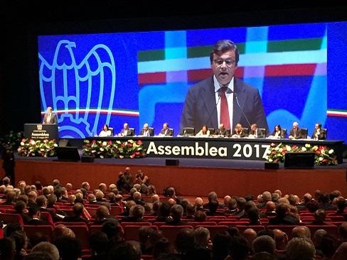 Tecnoconference Europe - Gruppo del Fio at Confindustria assembly