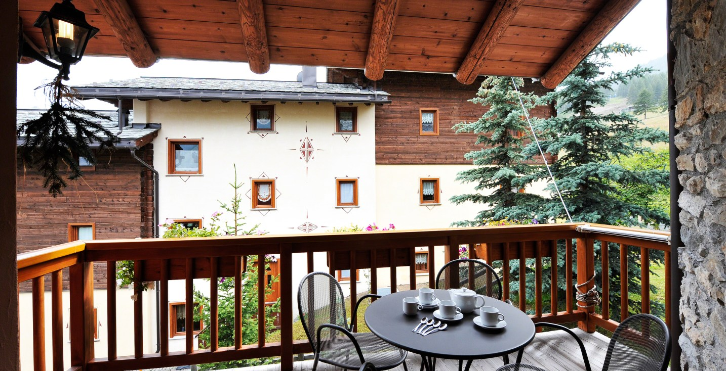 italiaanse alpen appartement