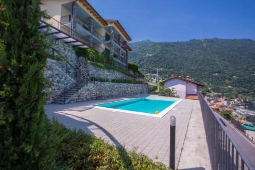 De residence met zwembad