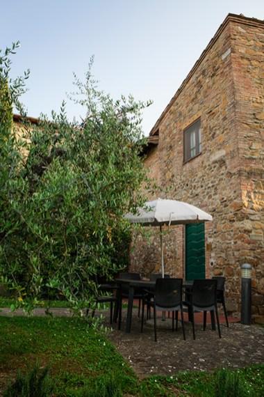 Appartement Vernaccia | Tuin en terras