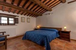 Vakantiehuis Quercia | Slaapkamer met 2-persoonsbed