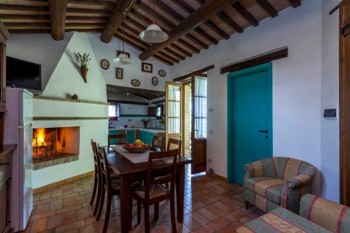 Vakantiehuis Quercia | Gezellige woonkeuken