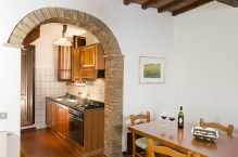 Appartement Vernaccia | Woonkamer en keuken