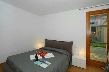 Slaapkamer 1 met een 2-persoonsbed