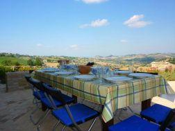 Samen eten met fantastisch uitzicht