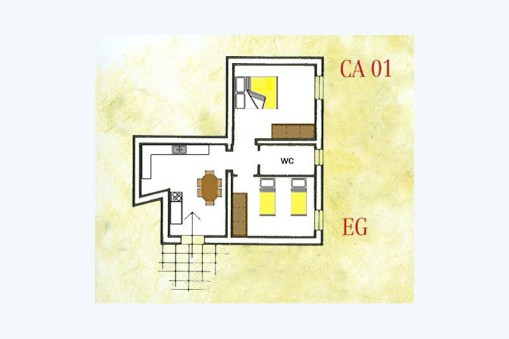 appartement toscane