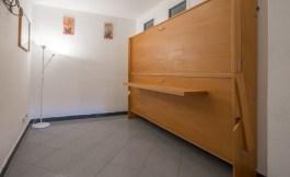 Slaapkamer met stapelbed (inklapbaar)