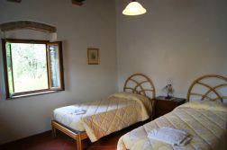 Appartement Michelangelo   Slaapkamer 3 met twee 1-persoonsbedden
