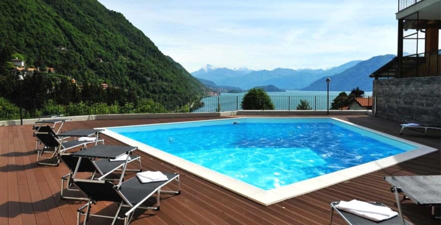 comomeer appartement zwembad