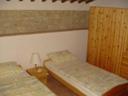 Vakantiehuis Alloro   Slaapkamer 2 met twee 1-persoonsbedden