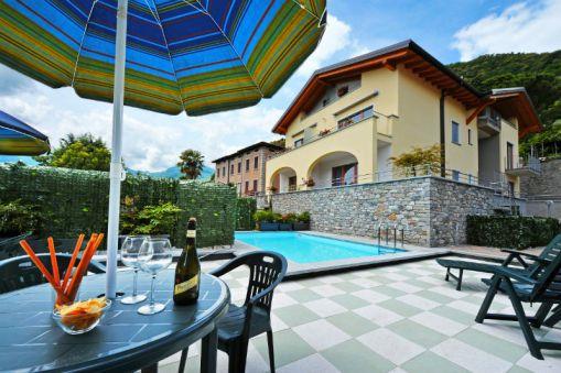 De nieuwe residence met zwembad