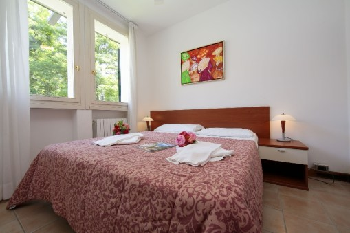Appartement Dalia 1   Slaapkamer 1 met 2-persoonsbed