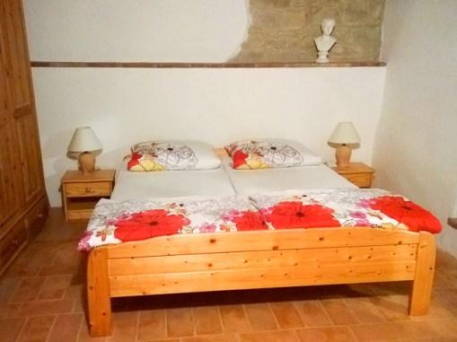 Vakantiehuis Alloro   Slaapkamer 1 met 2-persoonsbed