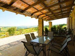 Vakantiehuis Lacrima | Terras met prachtig uitzicht