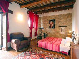 Appartement Menta   Slaapkamer met 2-persoonsbed