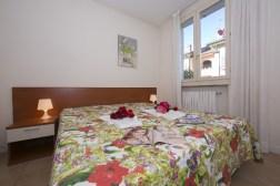 Appartement Orchidea 1 | Slaapkamer 1 met 2-persoonsbed