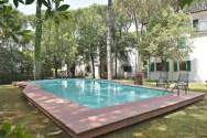toscaanse kust appartement met zwembad