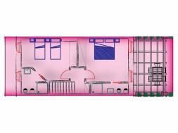 Vakantiehuis Verdicchio | Bovenverdieping