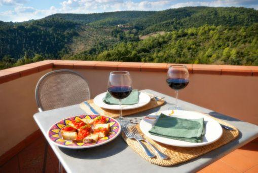 Appartement Belvedere | Prive-terras met prachtig uitzicht