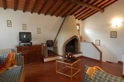 Appartement Botticelli | Woonkamer met open haard