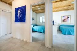 Slaapkamer 1 en 2 met 2-persoonsbed