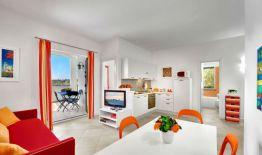 Appartement Figaro   Woonkamer en prive-terras