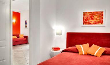 Appartement Figaro | Slaapkamer met 2-persoonsbed