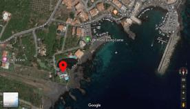 Ligging van het appartement in het plaatsje Stazzo (Acireale)