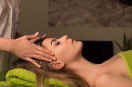 Massages in het wellness center