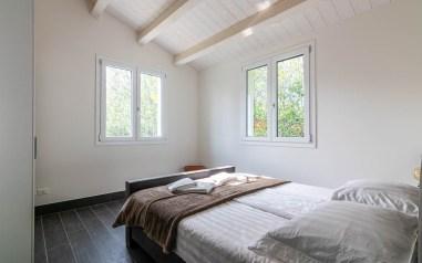Slaapkamer 4 met 2-persoonsbed