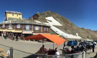 Passo dello Stelvio (in giornata). Tutta colpa del Giro d'Italia!